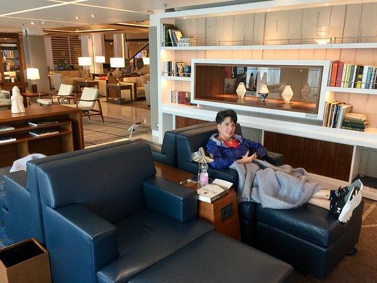 Viking Sky: Relaxing on board!