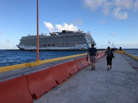 Norwegian Escape: Escape in Costa Maya