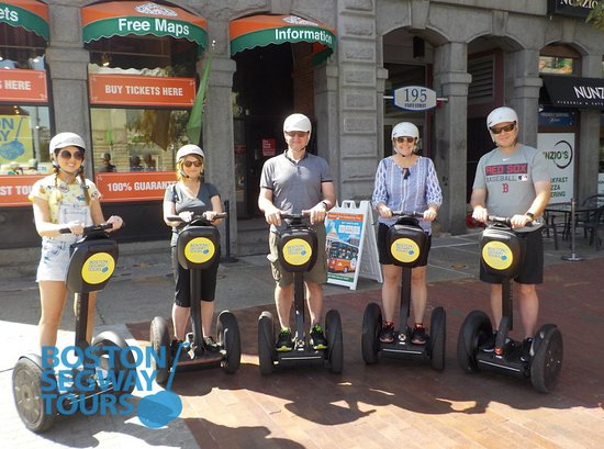 Boston Segway Tours: Looking for one of the #best #thingstodo in #Boston? Experience #fun the whole #family can enjoy. A #Segway #tour! 😎 www.bostonsegwaytours.net