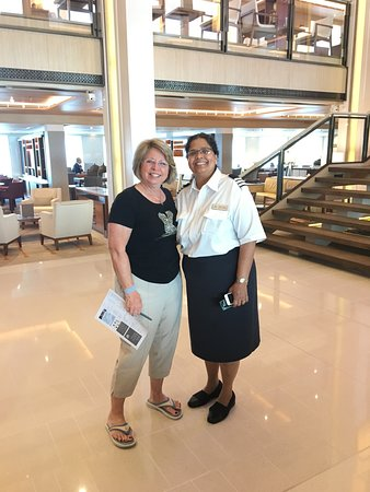 Viking Sea: So impressed by the amazing job of Renita, headbof housekeeping. She still had time to be genuinely personable with guests! Hope to see her on another cruise!