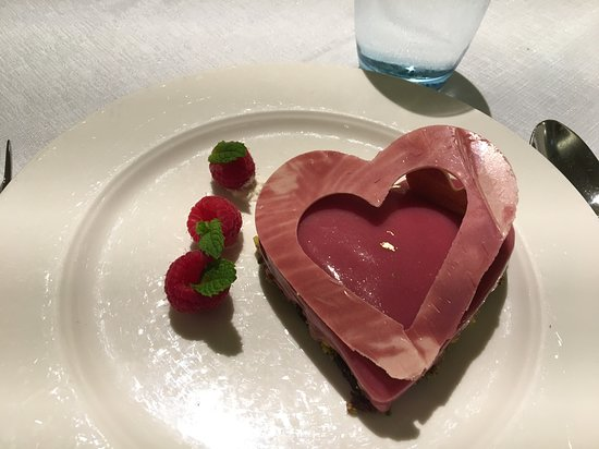 Viking Sea: Awesome Valentines Day dessert! Thanks for ALL the amazing food, Viking chefs!