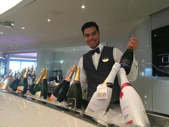 MSC Seaside: Champagne Bar