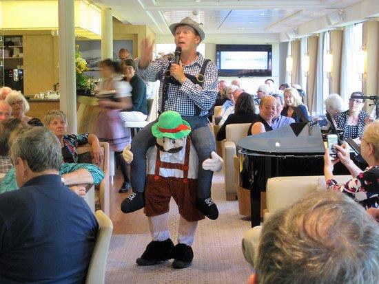 Viking Kvasir: Our cruise director was so much fun!