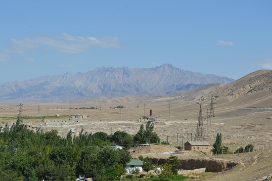 Nurota, Uzbekistan: View from the fort