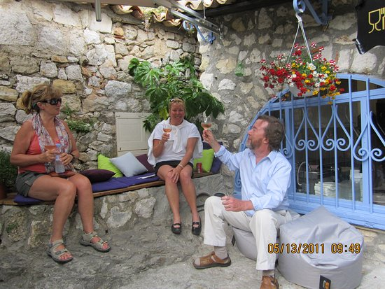 Great times visiting Eze.