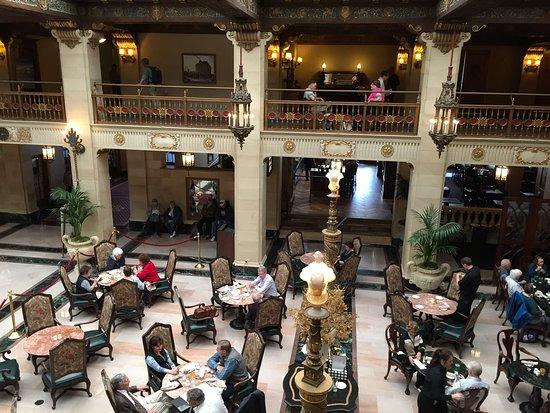 American Empress: Lobby Historic Davenport Hotel