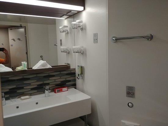 Norwegian Bliss: room 11109 bathroom