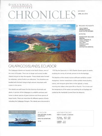 Silver Galapagos: Chronicles day 1