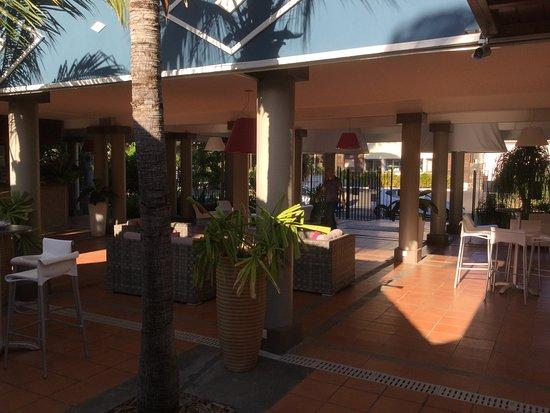 Hotel Les Creoles: entrée