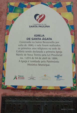 Capela Santa Agata (Nova Trento) - 2019 All You Need to Know