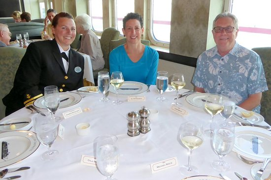 American Empress: Dining with Captain Andrea Mickelson