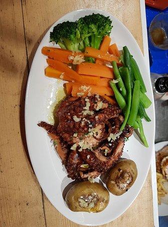 Restaurante Cais 16: Polvo