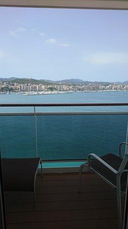 MSC Divina: Balcony view (Palma)