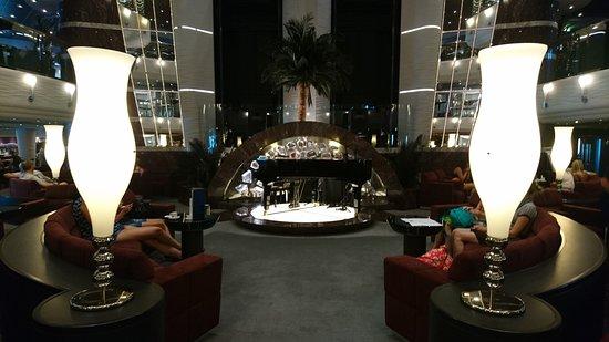 MSC Divina: The atrium foyer