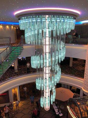Norwegian Getaway: Atrium