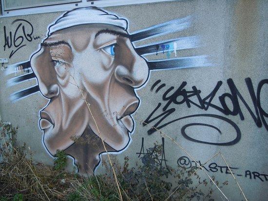 """Fresque """"Atelier6B - 4 Portrait"""""""