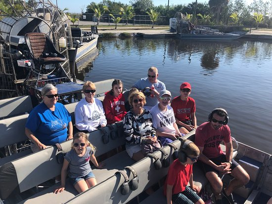 Our family ready to go boating!
