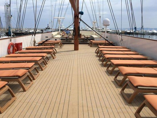 Galileo: Beautiful sun deck!