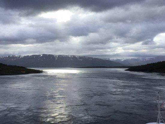 Viking Sea: From our veranda