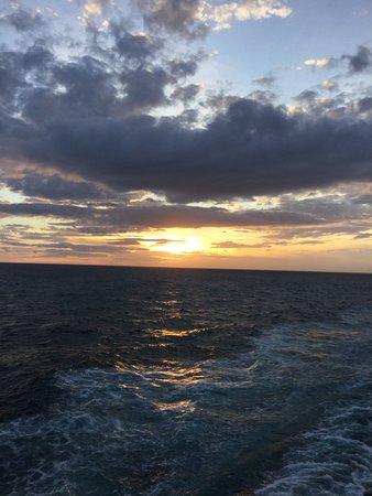 Viking Sea: Sunset