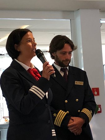 Viking Kadlin: Urska and Captain Frederic Schuhl