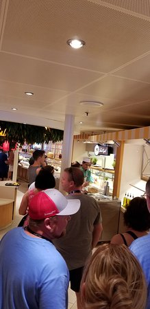 Carnival Vista: Want ice cream? Guess what? Another line