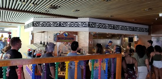 Carnival Vista: Want mexican? Be prepared for the line!!