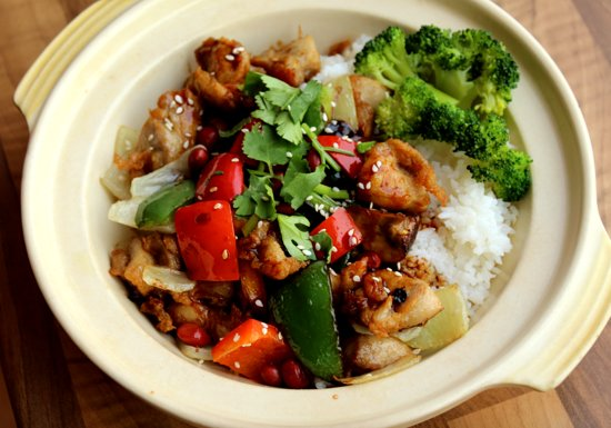 Beijing Cooking Pot: YUMMY CHICKEN WITH RICE DISH
