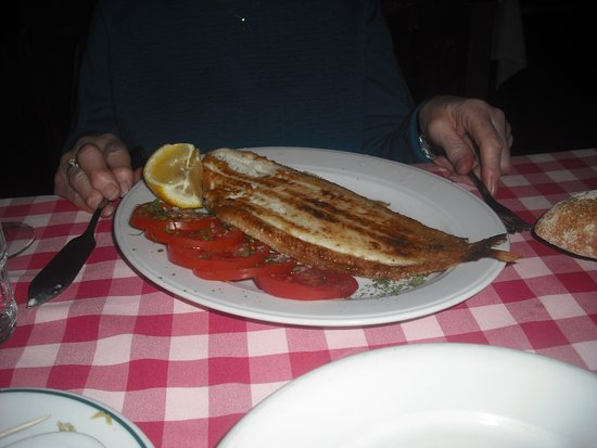 Restaurante Casa Salvador: sole from the grill-always a winner!