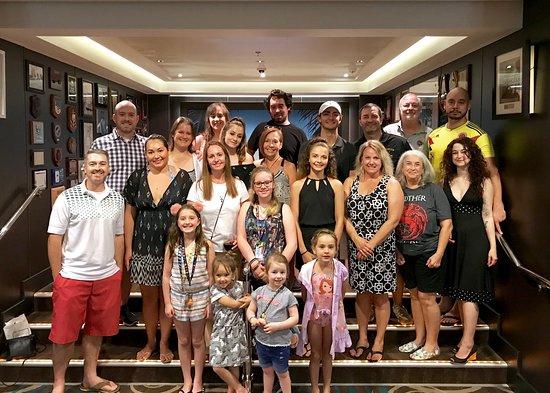 Norwegian Getaway: Our family.