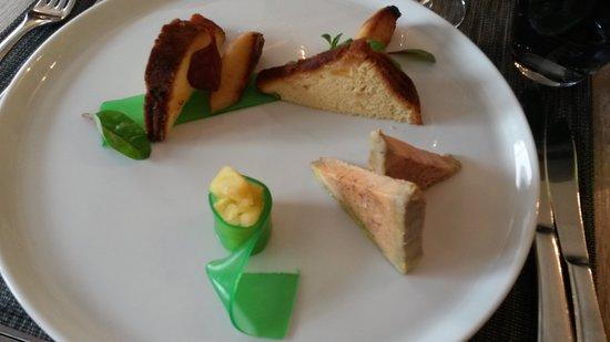 Neauphle-le-Chateau, Франция: foie gras