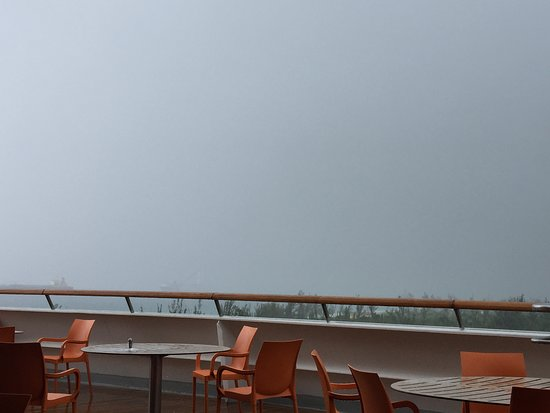 Grand Classica: Tropical Storm (view from The Rock)