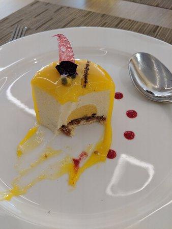Viking Orion: Amazing passion fruit dessert
