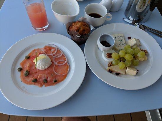 Viking Orion: Room service breakfast
