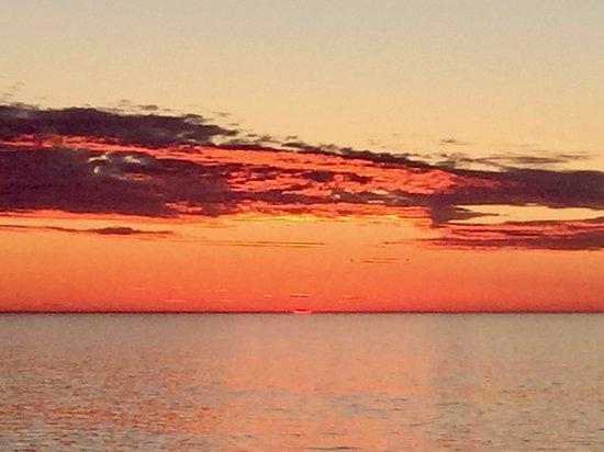 Viking Sea: Traveling North in the Arctic Circle at 11:30pm,