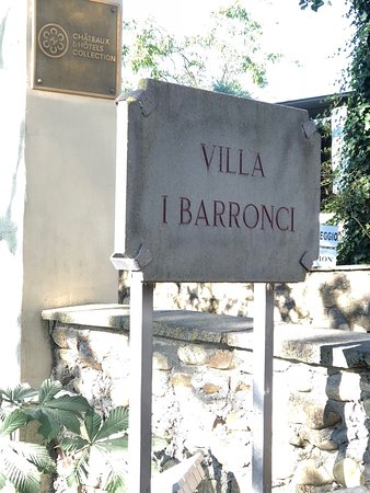 Viking Orion: Villa Barronci where we stayed in Tuscany
