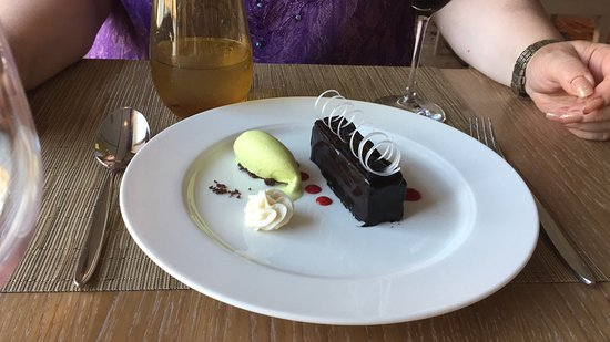 Viking Orion: Dessert at the Chefs Table