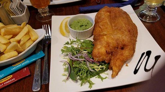 Fish & chips - amazing.