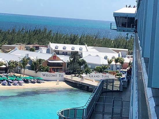 Carnival Breeze: The wharf view in Grand Turk