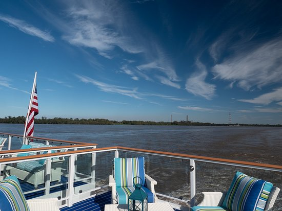 American Song: Top deck of ship