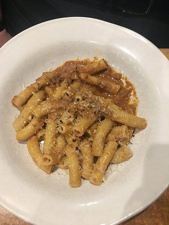 Harmony of the Seas: Jamie's Italian - Homemade ziti with bologesne........it melts in your