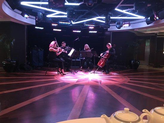 Riviera: String quartet at Tea