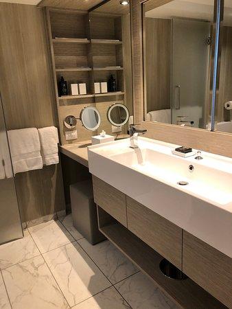 Celebrity Edge: Bathroom sky suite S2