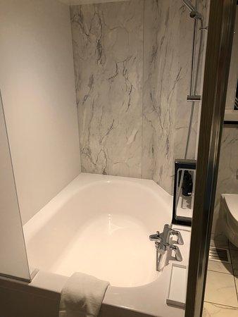 Celebrity Edge: Shower tub combo