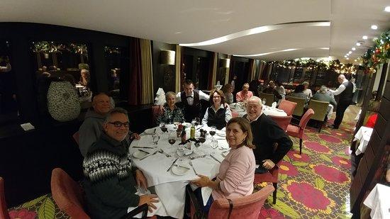 Supper aboard the AmaStella