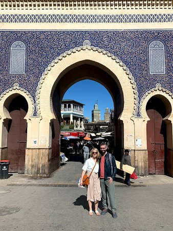 """""""The Blue Gate"""" of Fes"""