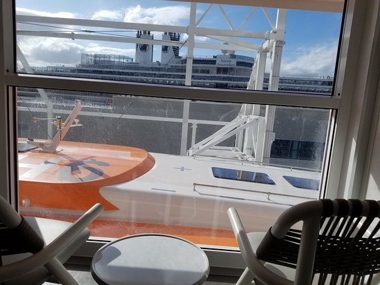 Celebrity Edge: View from ES cabin 6218