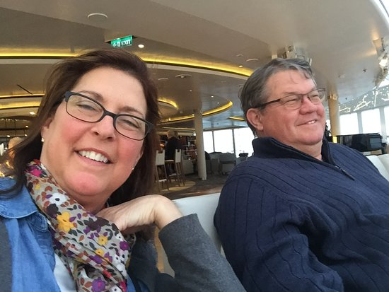 On board the Viking Star March 2018