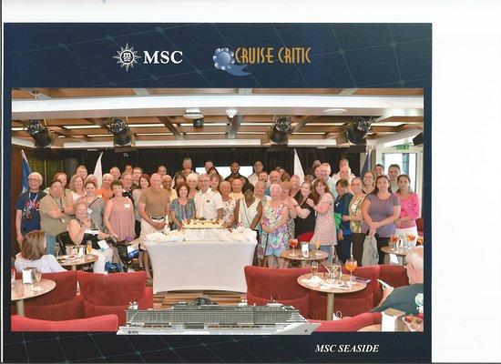 MSC Seaside: Cruise Critic gathering