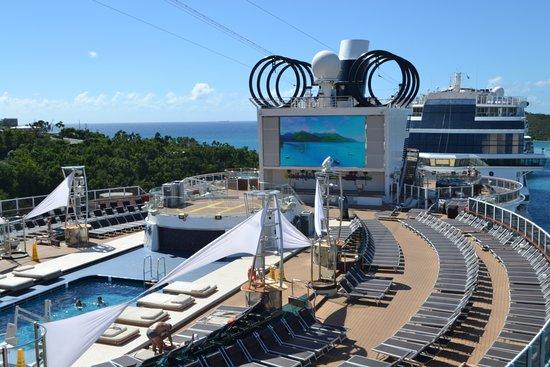 MSC Seaside: Miami Beach pool